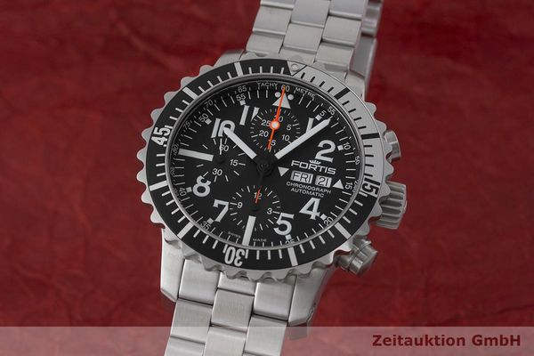 FORTIS MARINEMASTER CHRONOGRAPH STEEL AUTOMATIC LP: 3145EUR  [170887]