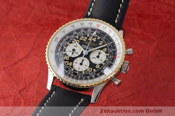 BREITLING NAVITIMER CHRONOGRAPH STEEL / GOLD MANUAL WINDING KAL. LWO 1873  [170921]