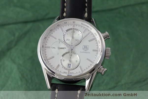 TAG HEUER CARRERA CHRONOGRAPH STEEL AUTOMATIC KAL. 1887 LP: 4050EUR  [170925]