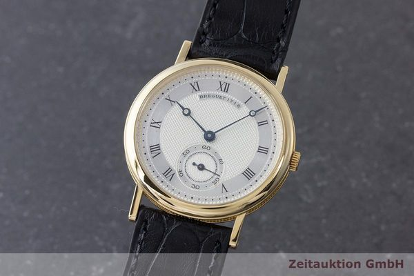 BREGUET CLASSIQUE 18 CT GOLD MANUAL WINDING KAL. 818/4 LP: 11700EUR [170927]