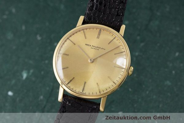 PATEK PHILIPPE CALATRAVA 18 CT GOLD MANUAL WINDING KAL. 23-300 LP: 15980EUR  [170935]