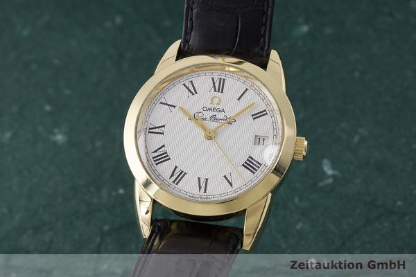 OMEGA LOUIS BRANDT OR 18 CT AUTOMATIQUE KAL. 1119 ETA 2892-2 LP: 8200EUR [170943]