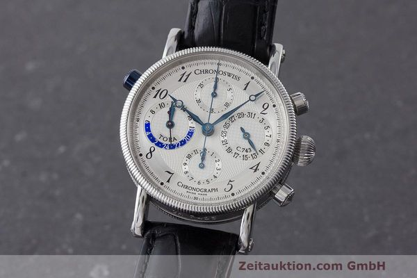 CHRONOSWISS TORA CHRONOGRAPHE ACIER AUTOMATIQUE KAL. 743 LP: 6800EUR  [170956]