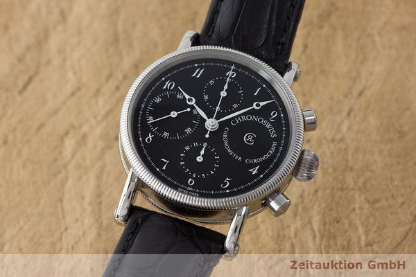 CHRONOSWISS KAIROS CHRONOGRAPHE ACIER AUTOMATIQUE KAL. 754 LP: 6100EUR  [171098]