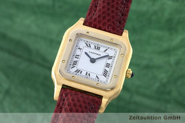 CARTIER PANTHERE ORO 18 CT CARICA MANUALE KAL. 21  [171127]