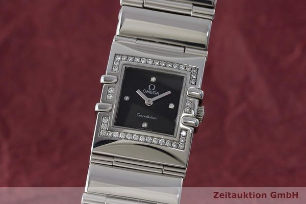 OMEGA LADY CONSTELLATION EDELSTAHL DAMENUHR DIAMANTEN VP: 3900,- EURO [171128]