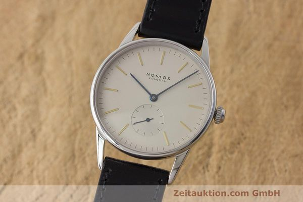 NOMOS ORION ACERO CUERDA MANUAL KAL. ETA 7001 LP: 1560EUR  [171136]