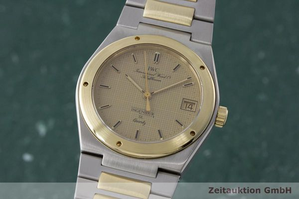 IWC INGENIEUR ACIER / OR  QUARTZ KAL. 2250 LP: 6200EUR  [171137]