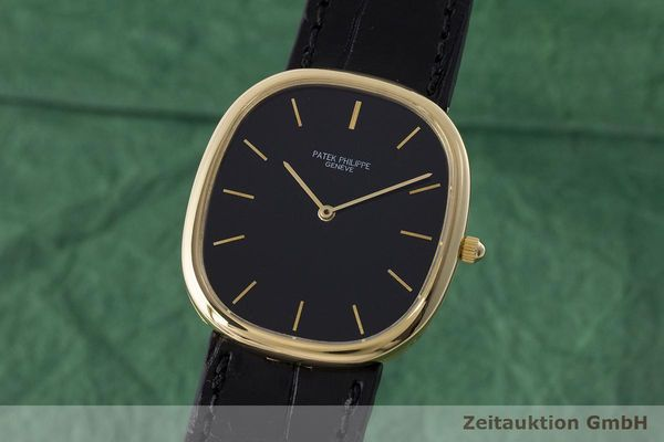 PATEK PHILIPPE ELLIPSE D´OR 18K GOLD AUTOMATIK HERRENUHR REF. 3738 VP: 19930,- Euro [171138]