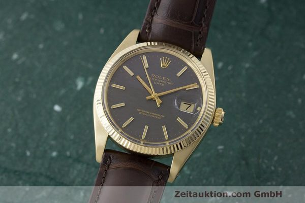 ROLEX DATE OR JAUNEN 14 CT AUTOMATIQUE KAL. 1570 LP: 21500EUR  [171155]