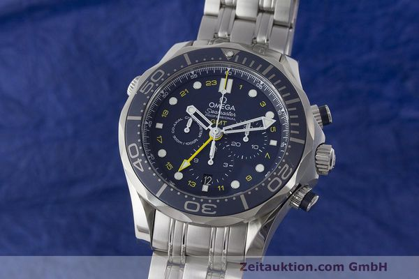 OMEGA SEAMASTER CHRONOGRAPH STEEL AUTOMATIC KAL. 3603 LP: 5700EUR  [171197]