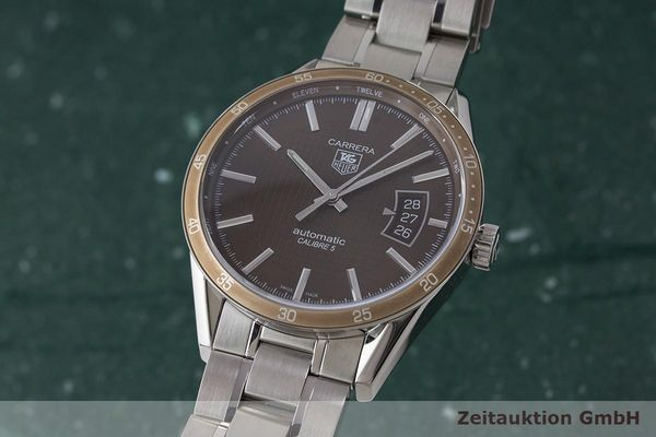TAG HEUER CARRERA STEEL AUTOMATIC KAL. 5 LP: 2150EUR  [171235]