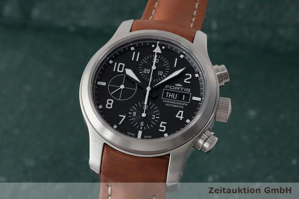 FORTIS B-42 CHRONOGRAPH STEEL AUTOMATIC LP: 2990EUR  [171238]