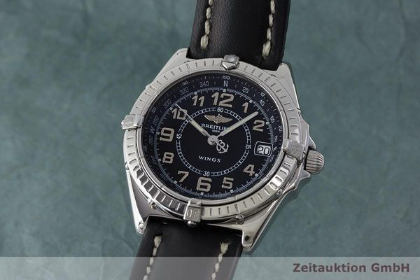 BREITLING WINGS STEEL QUARTZ KAL. B66 ETA 955122 LP: 2470EUR  [171265]