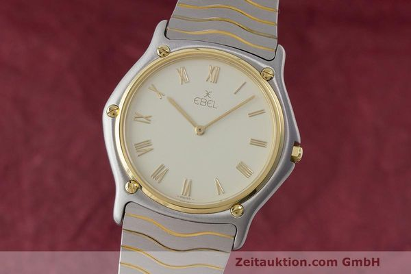 EBEL CLASSIC WAVE HERRENUHR GOLD / STAHL CLASSICWAVE FULL SET VP: 2470,- EURO [171288]
