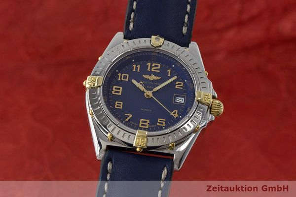 BREITLING WINGS STEEL / GOLD QUARTZ KAL. B67 ETA 956.612 LP: 2910EUR  [171298]