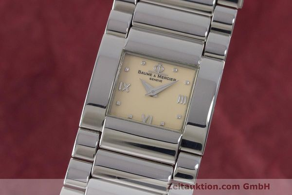 BAUME & MERCIER LADY CATWALK EDELSTAHL DAMENUHR MV045197 VP: 1900,- Euro [171320]