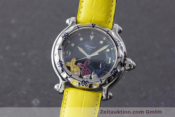 CHOPARD LADY HAPPY SPORT FISH DAMENUHR REF. 8347 RUBINE SAPHIRE VP: 5750,- Euro [171340]