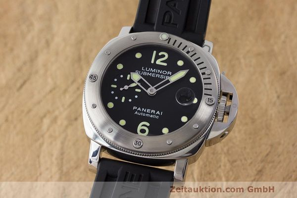PANERAI LUMINOR SUBMERSIBLE ACIER AUTOMATIQUE KAL. OP III ETA A05511 LP: 6600EUR  [171404]