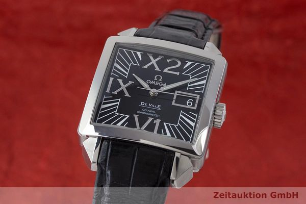 OMEGA DE VILLE X2 BIG DATE CO-AXIAL CHRONOMETER AUTOMATIK 7813.50.31 NP: 5200,-E [171408]