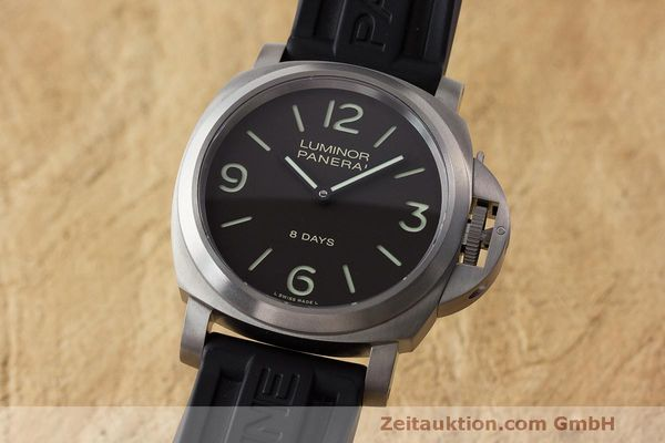 PANERAI LUMINOR 8 DAYS TITAN HANDAUZUG PAM00562 GLASBODEN NP: 6200,- EURO [171410]