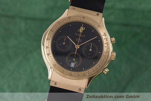 HUBLOT MDM CHRONOGRAPHE OR 18 CT QUARTZ KAL. MDM1270 LP: 26900EUR  [171446]