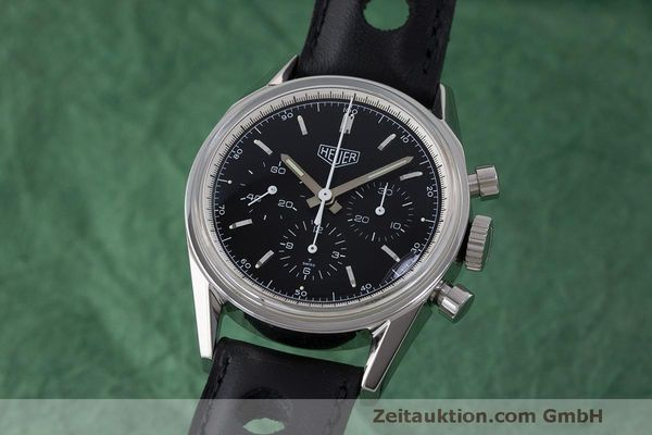 TAG HEUER CARRERA CHRONOGRAPH STEEL MANUAL WINDING KAL. LWO 1873 LP: 4900EUR  [171465]