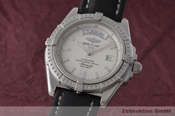 BREITLING HEADWIND STEEL AUTOMATIC KAL. B45 ETA 2834-2 LP: 2990EUR  [171541]