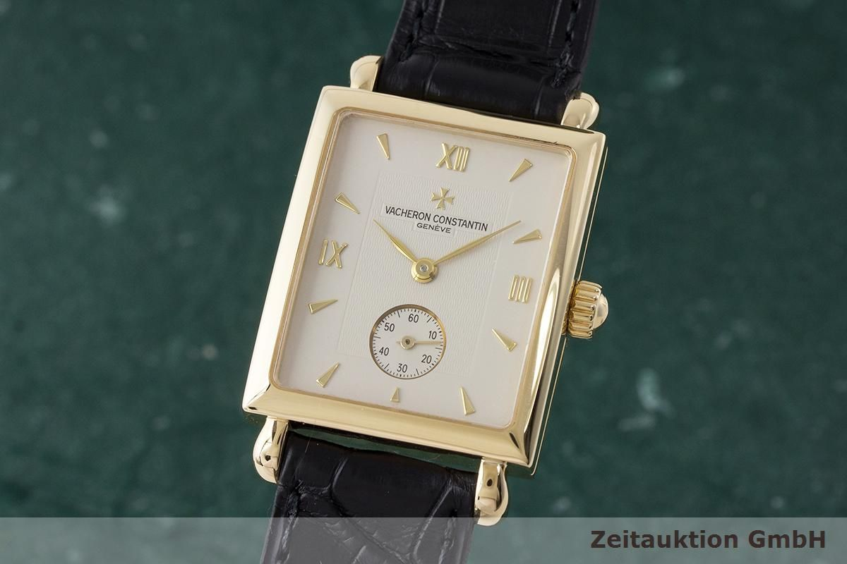 Vacheron Constantin Historiques 18 Ct Gold Manual Winding Kal 1017 Ref 91001 171550 Zeitauktion