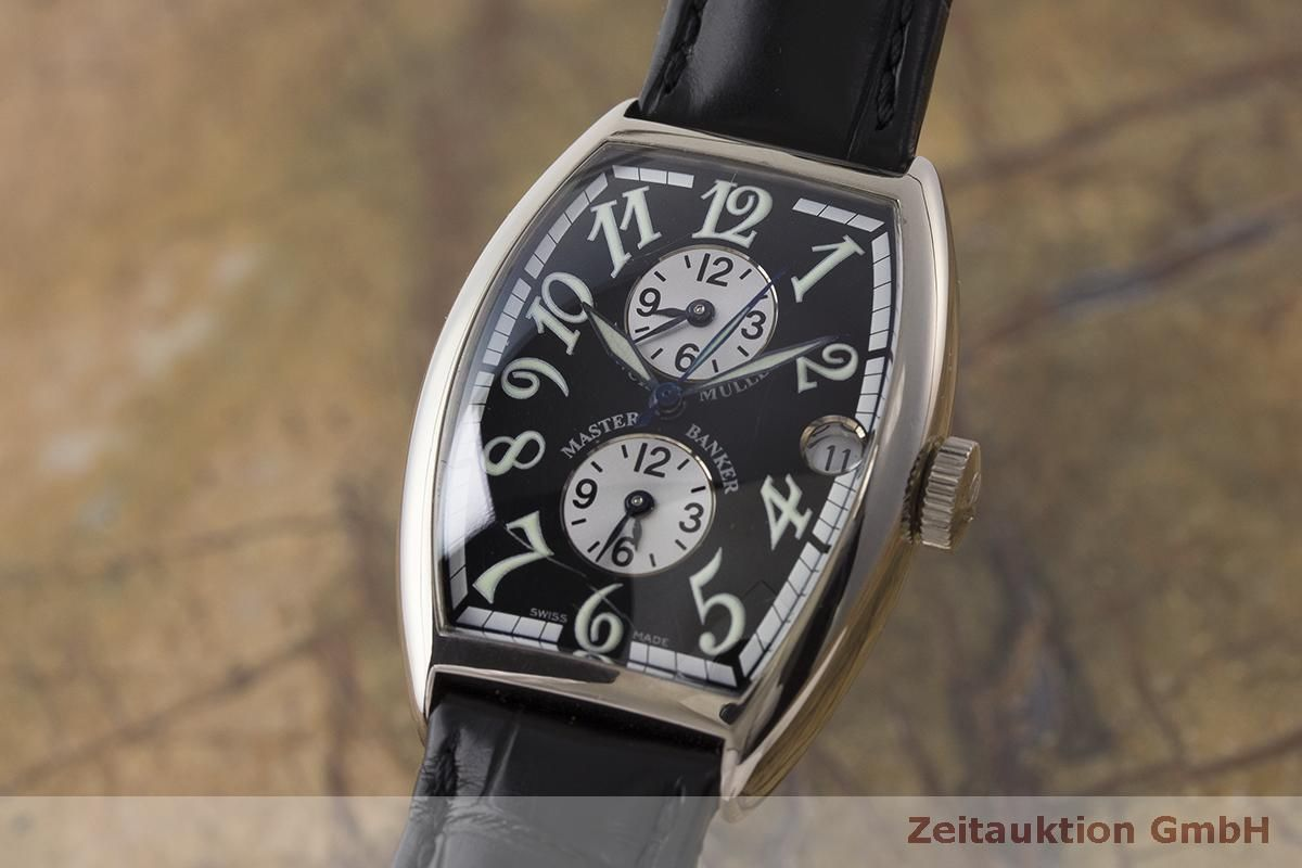 new style 2e7be f58d0 Franck Muller Master Banker 18 ct gold automatic Kal. 2800MB ...