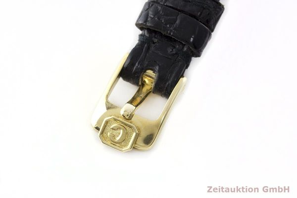 gebrauchte Luxusuhr Chopard Happy Diamonds 18k Gold Quarz Kal. Eta 201001 Ref. 64305  | 173575 09