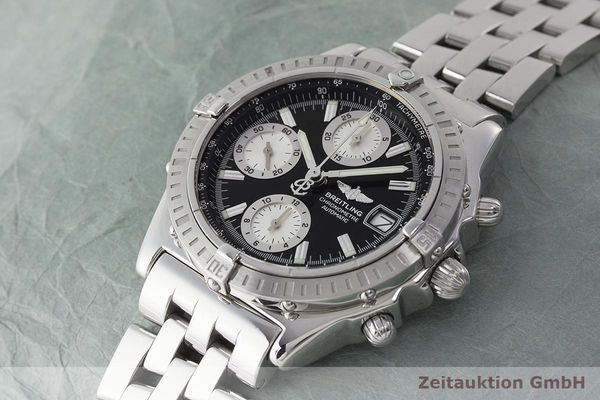 Used Luxury Watch Breitling Chronomat Chronograph Steel Automatic Ref A13352