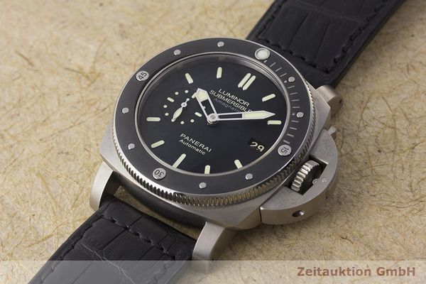 gebrauchte Luxusuhr Panerai Luminor Submersible Titan Automatik Kal. P9000 Ref. PAM00389 LIMITED EDITION | 180164 01