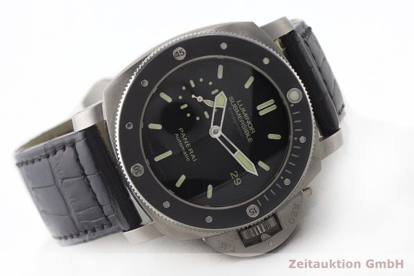 gebrauchte Luxusuhr Panerai Luminor Submersible Titan Automatik Kal. P9000 Ref. PAM00389 LIMITED EDITION | 180164 03
