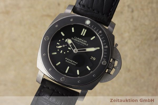 gebrauchte Luxusuhr Panerai Luminor Submersible Titan Automatik Kal. P9000 Ref. PAM00389 LIMITED EDITION | 180164 04
