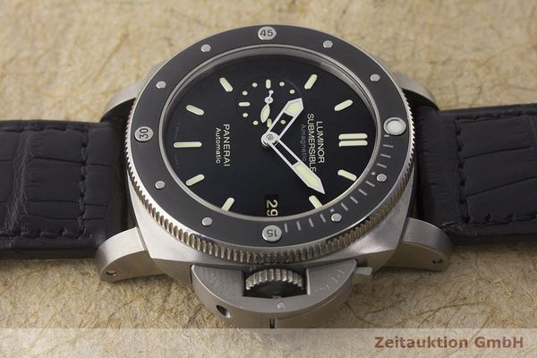 gebrauchte Luxusuhr Panerai Luminor Submersible Titan Automatik Kal. P9000 Ref. PAM00389 LIMITED EDITION | 180164 05