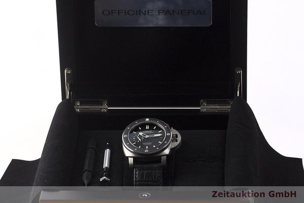 gebrauchte Luxusuhr Panerai Luminor Submersible Titan Automatik Kal. P9000 Ref. PAM00389 LIMITED EDITION | 180164 07