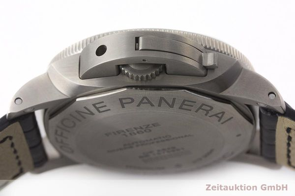 gebrauchte Luxusuhr Panerai Luminor Submersible Titan Automatik Kal. P9000 Ref. PAM00389 LIMITED EDITION | 180164 11