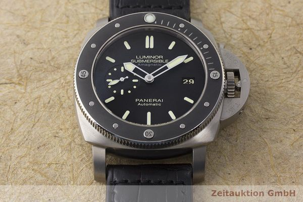gebrauchte Luxusuhr Panerai Luminor Submersible Titan Automatik Kal. P9000 Ref. PAM00389 LIMITED EDITION | 180164 17