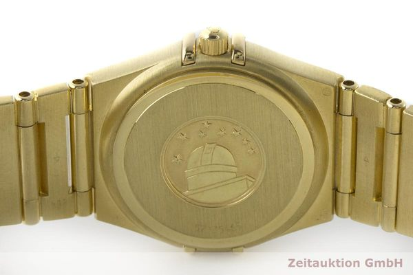 gebrauchte Luxusuhr Omega Constellation 18k Gold Quarz Kal. 1456 Ref. 11727500  | 181190 09
