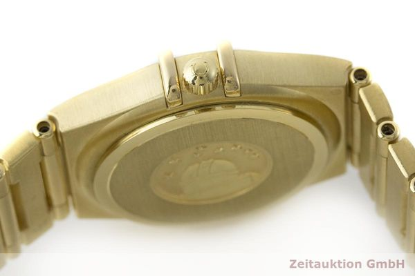 gebrauchte Luxusuhr Omega Constellation 18k Gold Quarz Kal. 1456 Ref. 11727500  | 181190 11