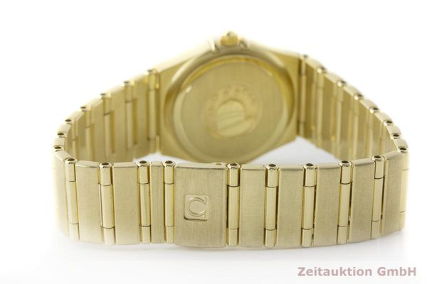 gebrauchte Luxusuhr Omega Constellation 18k Gold Quarz Kal. 1456 Ref. 11727500  | 181190 13