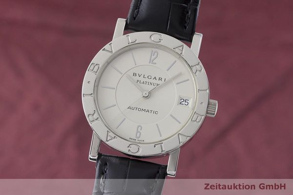 BVLGARI BVLGARI PLATINIUM AUTOMATIC MEN S WATCH BB33 LP  16700EUR  182580  6fafe7a7bdb