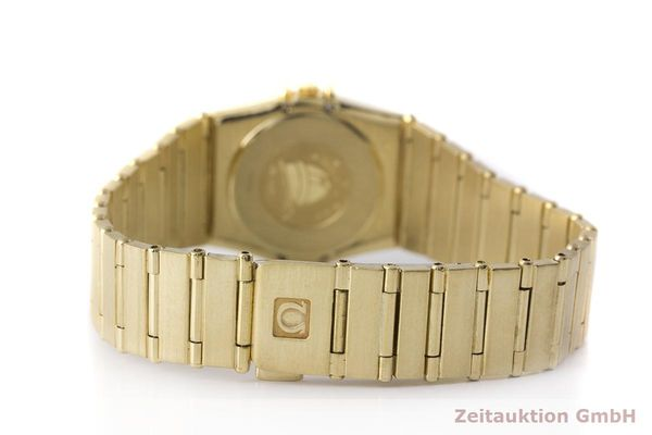 gebrauchte Luxusuhr Omega Constellation 18k Gold Quarz Kal. 1450 Ref. 6950001  | 183098 11
