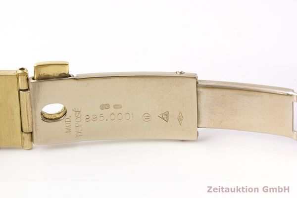 gebrauchte Luxusuhr Omega Constellation 18k Gold Quarz Kal. 1450 Ref. 6950001  | 183098 12