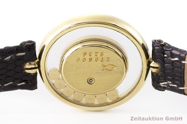 gebrauchte Luxusuhr Chopard Happy Diamonds 18k Gold Quarz Kal. Eta 201001 Ref. 20/4292  | 183106 08