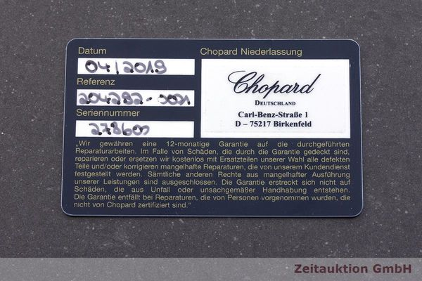 gebrauchte Luxusuhr Chopard Happy Diamonds 18k Gold Quarz Kal. Eta 201001 Ref. 20/4292  | 183106 10