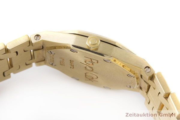 gebrauchte Luxusuhr Audemars Piguet Royal Oak 18k Gold Quarz Kal. 2610 Ref. C87056  | 183410 08