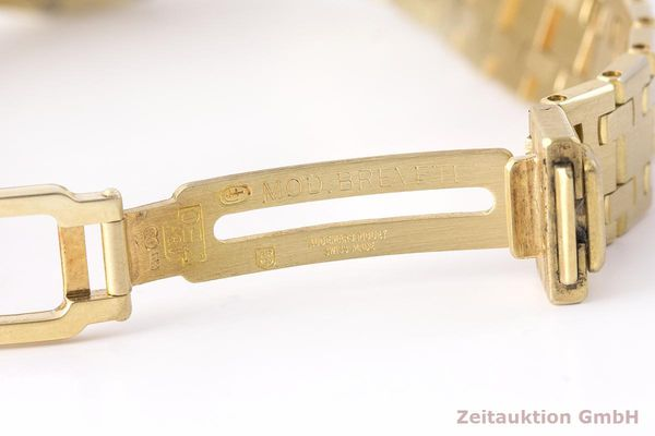 gebrauchte Luxusuhr Audemars Piguet Royal Oak 18k Gold Quarz Kal. 2610 Ref. C87056  | 183410 12
