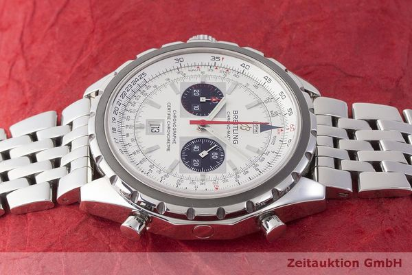 gebrauchte Luxusuhr Breitling Chrono-Matic Chronograph Stahl Automatik Kal. 2892A2 Ref. A41360  | 183581 05